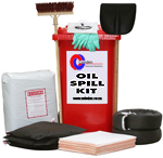 240L Oil Wheely Bin Spill Kit